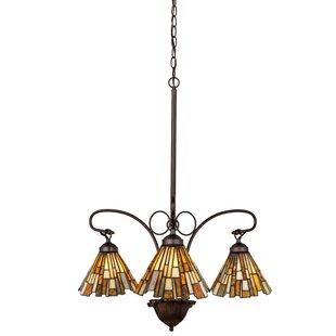 Astoria Grand Weissman Weissman Delta 3-Light Shaded Chandelier