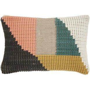 Cotton Lumbar Pillow Cover & Insert