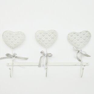 Caroline Heart Wall Hook By Lily Manor
