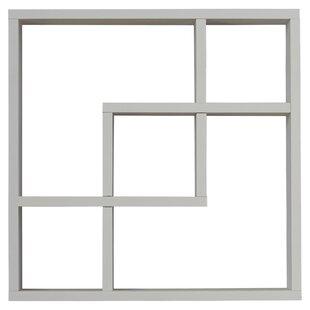 Geometric Square Wall Shelf