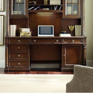 Leesburg Solid Wood Executive Desk