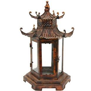 Pagoda Metal Lantern by Bloomsbury Market