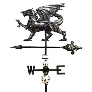 Champney Dragon Weathervane By Astoria Grand