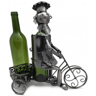 Trycicle Rider 2 Bottle Tabletop Wine Rac..