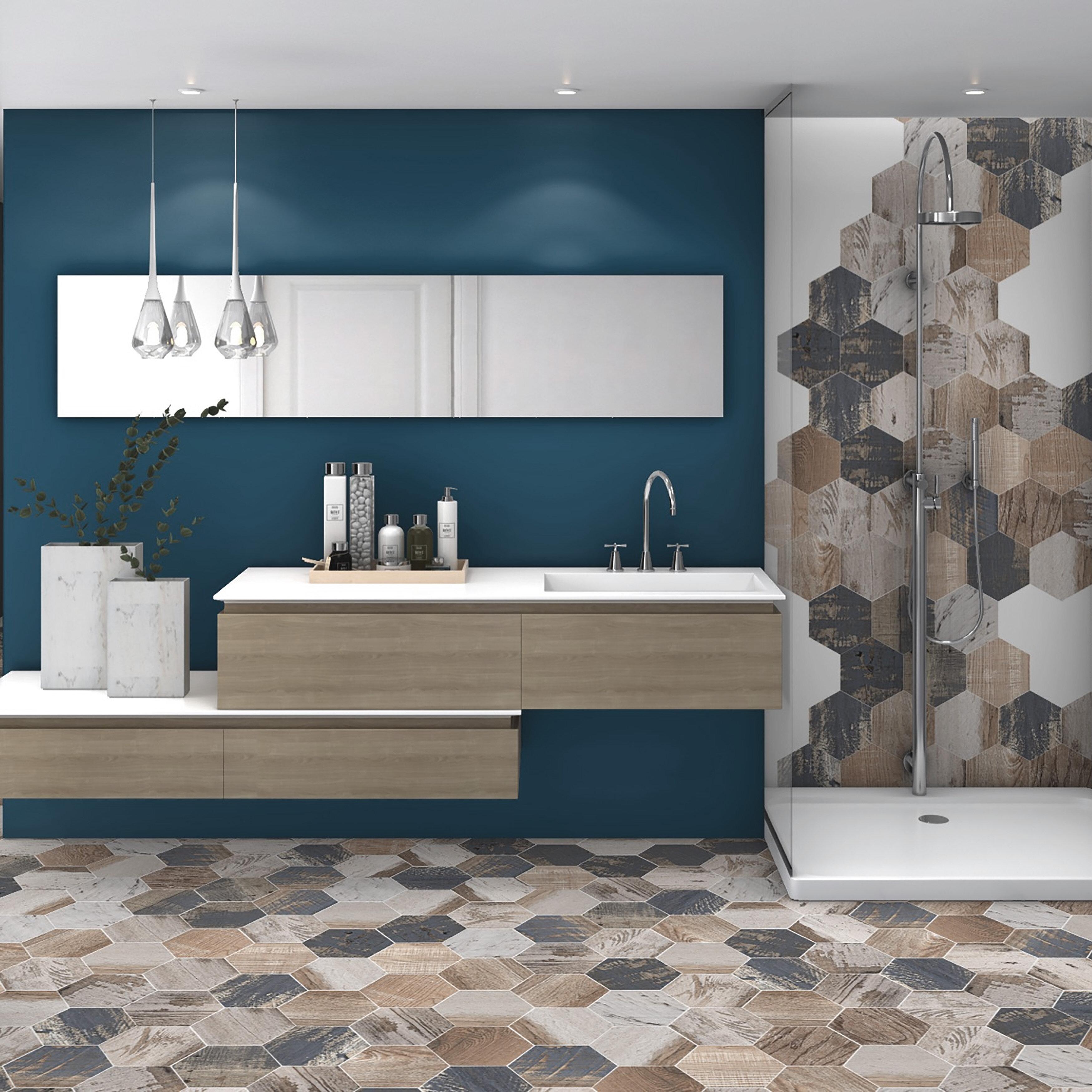 Elitetile Garde 9 X 10 Porcelain Wood Look Wall Floor Tile Reviews Wayfair