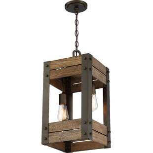 Boda 2-Light Square/Rectangle Pendant by Loon Peak