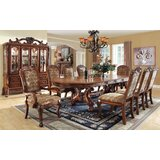 Cheeseman Walnut Solid Wood Dining Table by Astoria Grand