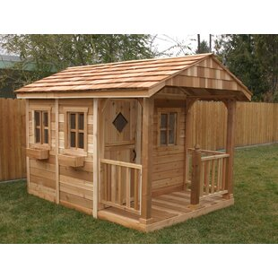 Sunflower 7.38' X 9.75' Playhouse By Outdoor Living Today