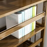 Clif 68'' H x 35'' W Wood Etagere Bookcase by Latitude Run®