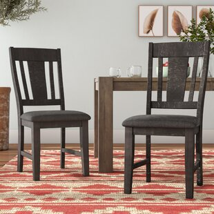 Sorrentino Upholstered Dining Chair (Set of 2) Millwood Pines