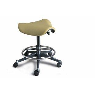 Humanscale Pony Saddle Drafting Chair