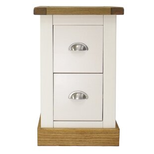 2 Drawer Bedside Table By Brambly Cottage