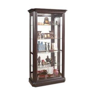 Loon Peak Rhett Lighted Curio Cabinet