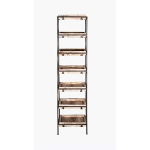 Jiya Shelf Storage Standard Bookcase by Foundry Select