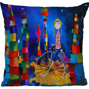 Robin Faye Gates Out of Bounds Throw Pillow