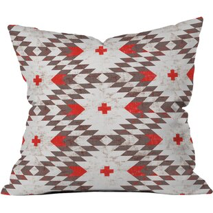 Native Rustic Throw Pillow