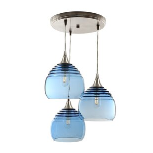 Auguste Cascade 3-Light Cluster Pendant (Set of 3) by Ivy Bronx