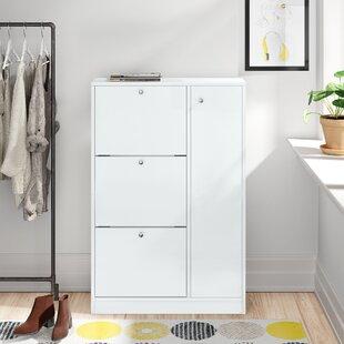28 Pair Shoe Storage Cabinet By Zipcode Design