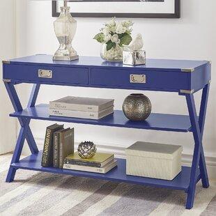 Blue Grey Sofa Table | Baci Living Room