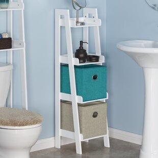Ordinaire Bathroom Floor Shelf | Wayfair