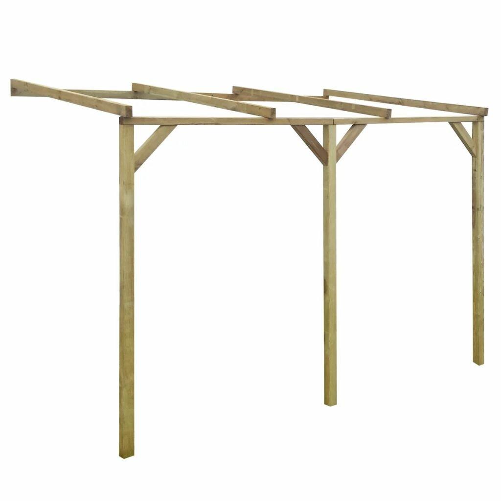 Rayne 2.2m x 3m x 2m Wood Pergola