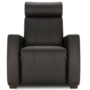 Latitude Run Leather Home Theater Individual Seat