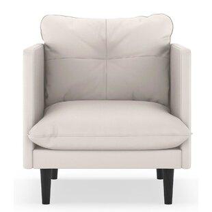 Scheid Vegan Leather Armchair by Orren Ellis