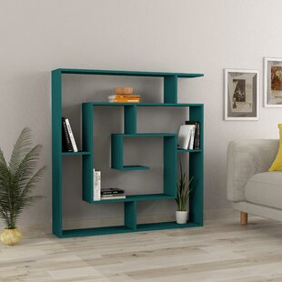 separation shoes a86d4 2a3c4 Turquoise Bookcase | Wayfair