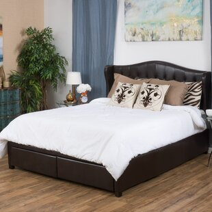 Riverside Upholstered Storage Panel Bed by DarHome Co