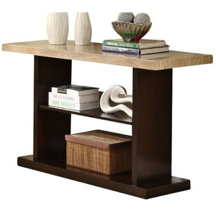 Black Birch Contemporary Console Table