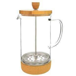 8-Cup Melbourne Bamboo Lid French Press Coffee Maker