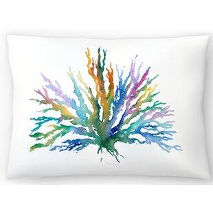 Coral Lumbar Pillow