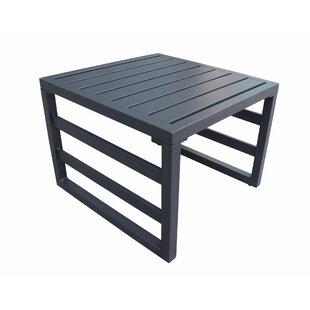 Kaminsky Aluminum Side Table By Wrought Studio