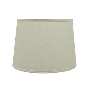 Transitional Hardback 14 Cotton Fabric Empire Lamp Shade