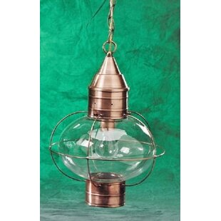 Brass Traditions 600 Series 1-Light Outdoor Hanging Lantern