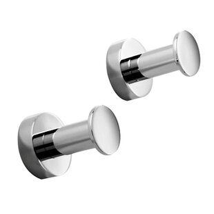 Inexpensive Baketo Wall Mounted Single Robe Hook ByWS Bath Collections