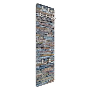Review Colourful Stonewall Wall Mounted Coat Rack