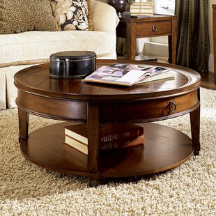 Langer Coffee Table with Tray Top