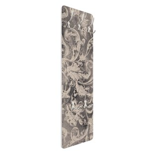 Blooming Floral Decorations I Wall Mounted Coat Rack By Symple Stuff