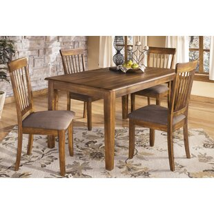 Solange 5 Piece Dining Set Bay Isle Home