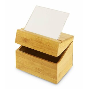 Reviews Wood Recipe Box By Union Rustic