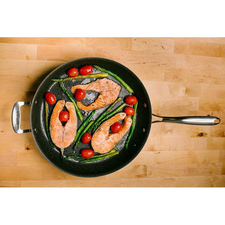 """As Seen on TV Granite Stone 14"""" Nonstick Triple-Coated Family Sized Frying Pan"""