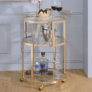 Everly Quinn Gayden Bar Cart
