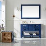 Kesgrave 48 Single Bathroom Vanity Set with Mirror by Brayden Studio