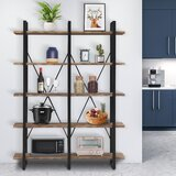 Mahnoor Iron Etagere Bookcase by 17 Stories