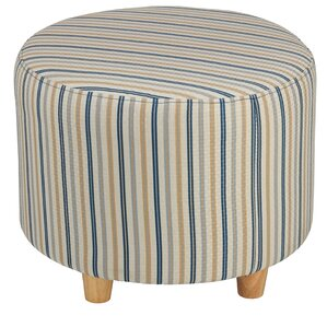 Jenner Round Ottoman by Cortesi Home