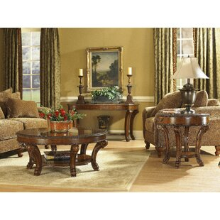 Astoria Grand Brussels 3 Piece Coffee Table Set