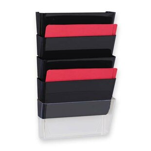 Vertical File System, 3/PK, Black by Sparco Products