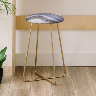 Emanuela Carratoni Winter Agate 25 Bar Stool East Urban Home