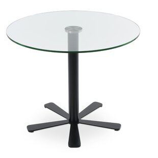 Slivno Glass Dining Table by Comm Office No Copoun